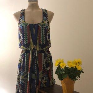 Jessica Simpson multi coloured dress